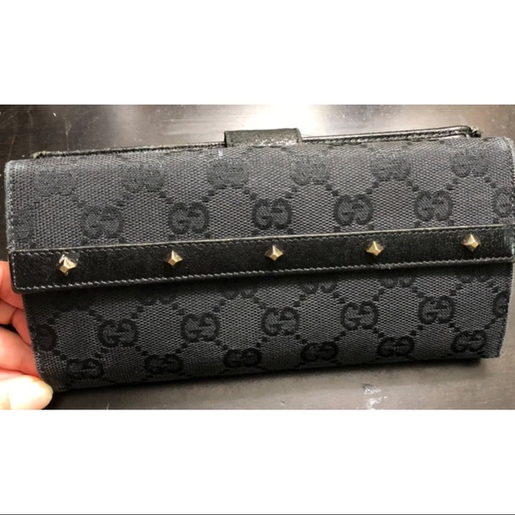 92103cb496a6 Gucci Bags | Authentic Studded Wallet | Poshmark